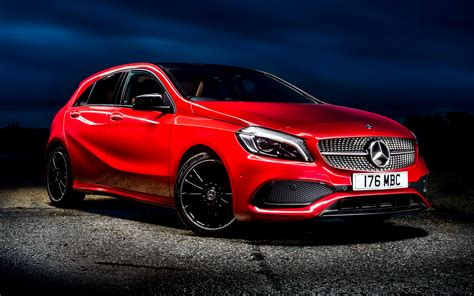 2015 Mercedes-Benz A-Class AMG Line (UK) - Wallpapers and