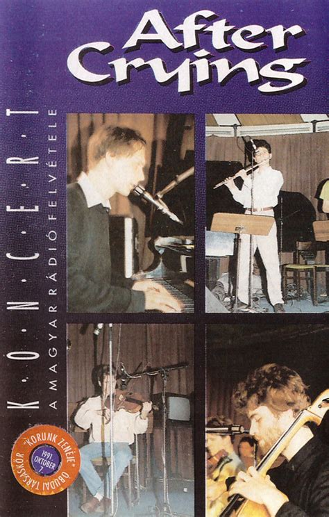 After Crying - Koncert (1991, Cassette) | Discogs