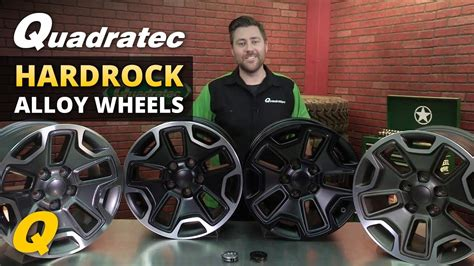 Quadratec Hardrock Wheels for Jeep Wrangler and Grand