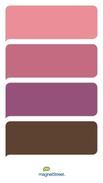 Dusty Rose, Mauve, Mulberry, and Brown Wedding Color