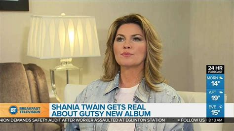 Shania Twain gets real with new album 'Now' - Video