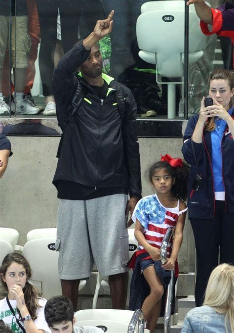 Kobe Bryant Photos Photos - NBA star Kobe Bryant seen with
