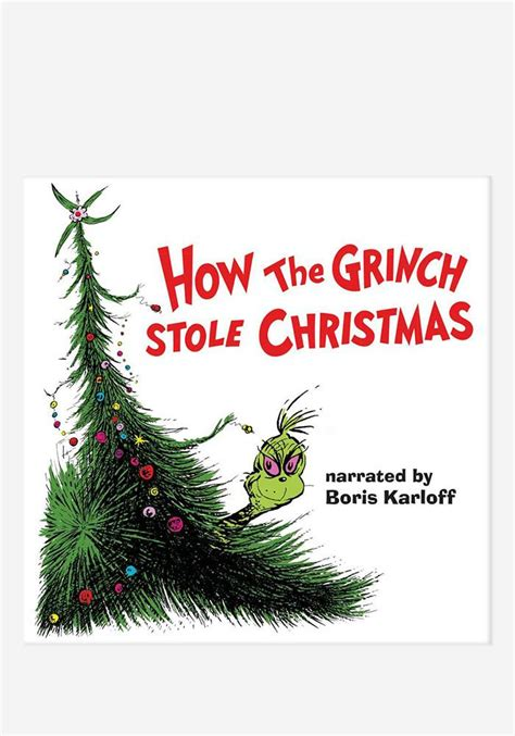 Boris Karloff-Soundtrack - How The Grinch Stole Christmas
