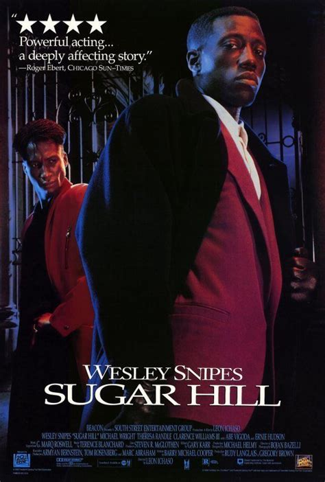 SUGAR HILL Movie POSTER 27x40 Wesley Snipes Michael Wright