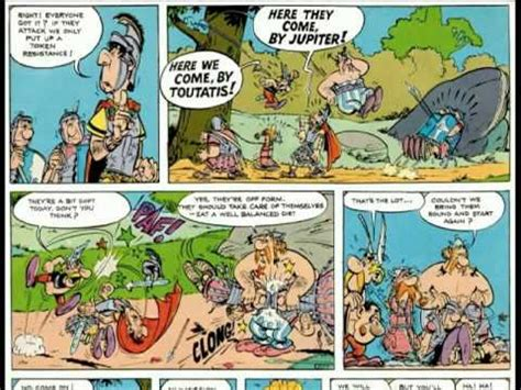 Asterix The gaul Part 1 - YouTube