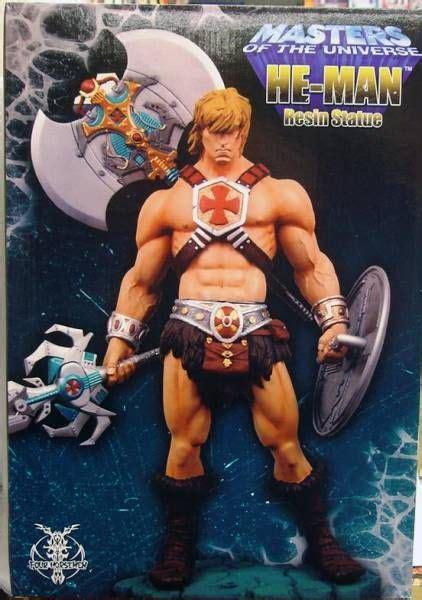 Masters of the Universe 200X - He-Man 14'' Statue