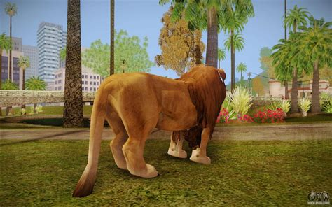Lion for GTA San Andreas