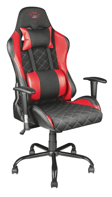 Trust GXT 707R Resto Gaming Chair Red - iWay