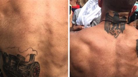 Racist Fan with Nazi Tattoos Spotted at Indinas Game