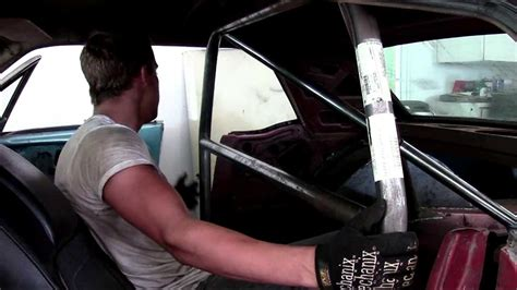 Roll Cage Fabrication | 66 Mustang Pt 2 - YouTube