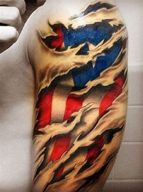 These Guys Have 'Merica Under Their Skin With Patriotic 3D