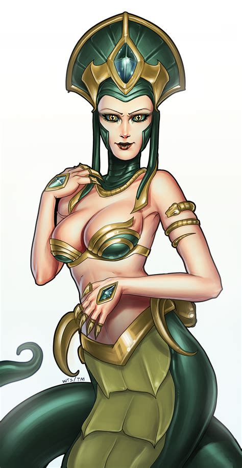 Cassiopeia League Of Legends FanArt 1 League Of Legends
