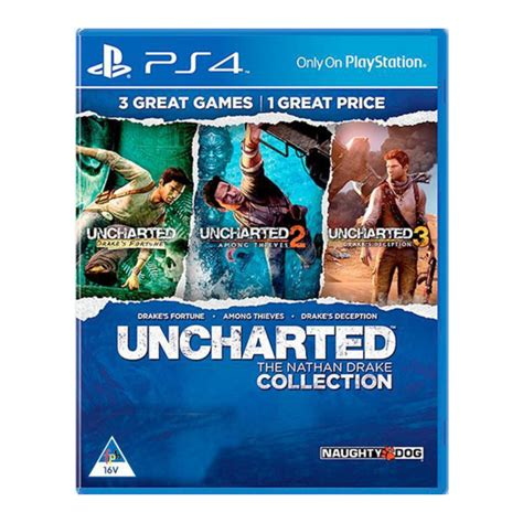 Uncharted The Nathan Drake Collection PS4 - PS4 - Játékok