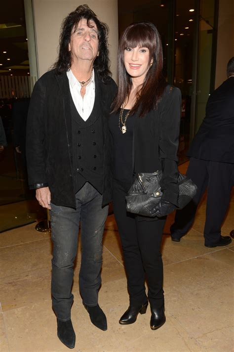 Alice Cooper and Sheryl Goddard Photos Photos - The 55th