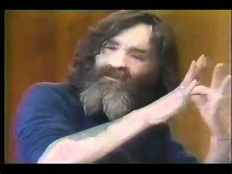 Interview with Charles Manson - YouTube