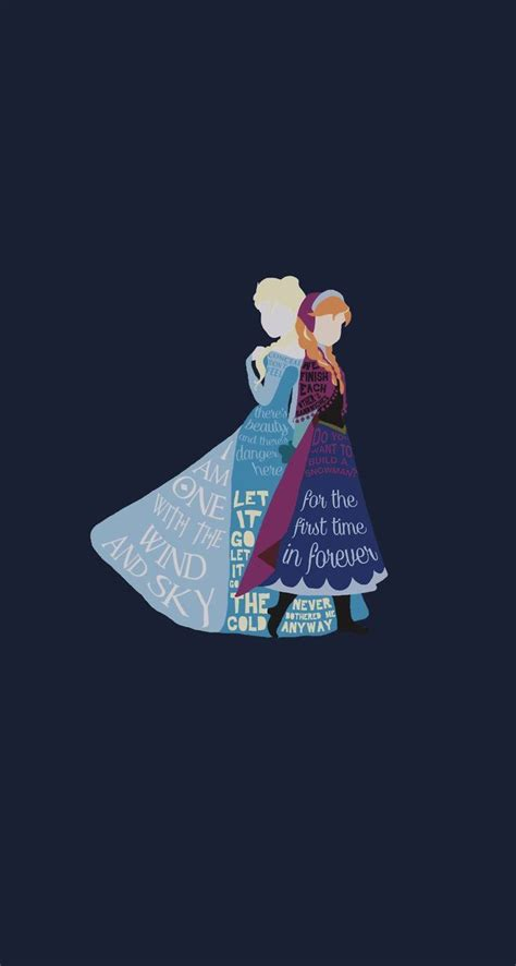 Frozen Disney Iphone 5 Wallpaper Cuz I M Disney Princess