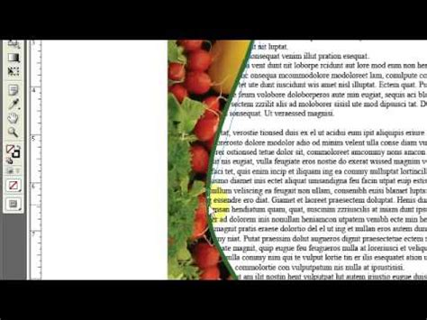 InDesign: How to Wrap Text Around a Graphic - YouTube
