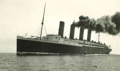 Cunard marks 100th anniversary of First World War loss of