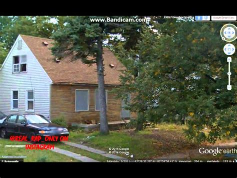Eminem Old House found on Google Earth Street View! - YouTube