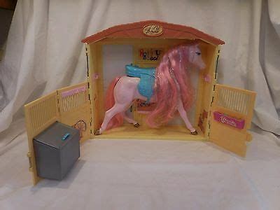Barbie Doll Horse Stable Magical Sounds Barn Stall 2000