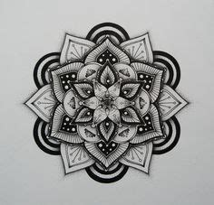 Indian Traditional Pattern Of Black And White - Flower
