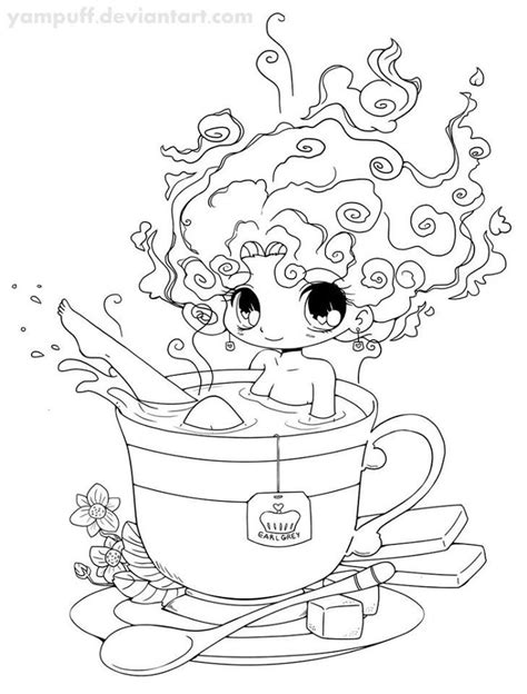 Pin by Michelle Walz on Chibi | Digi stamp, Coloring pages