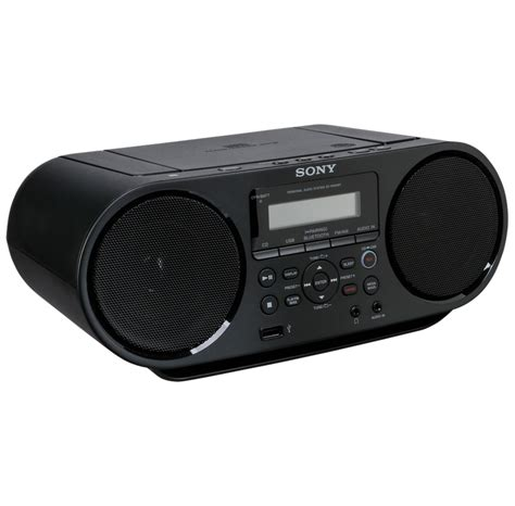 Sony ZS-RS60BT Boombox, 4 Watt, sort | Billig