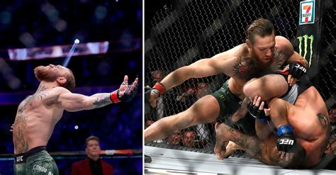 Conor McGregor Knocks Out Donald Cerrone in 40 Seconds At