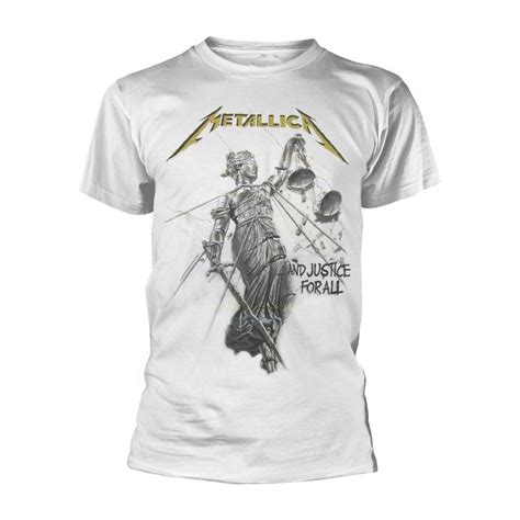 Metallica - AND JUSTICE FOR ALL (WHITE) póló - RockStore