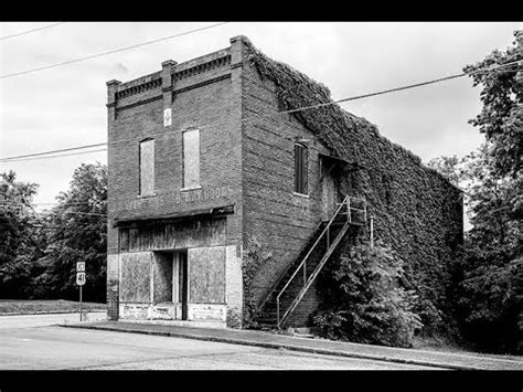 Abandoned Downtown Adams, Tennessee (Home of the Bell