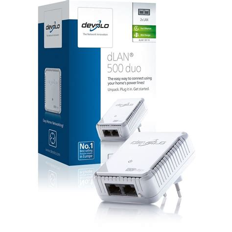 devolo D 9119 dLAN 500 duo powerline adapter