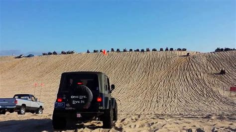 Jeep Rubicon at Silver Lake State Park sand dunes - YouTube