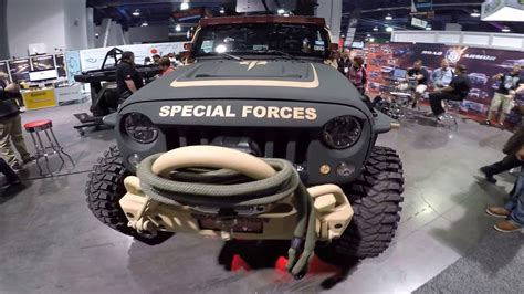 Military Jeep Rubicon - Black Ops - YouTube