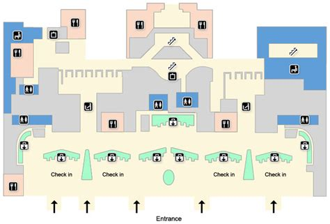 London Heathrow Terminal 5 Maps - Heathrow Airport Guide