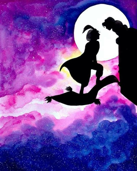 40 best Aladdin Silhoutte Tattoos images on Pinterest
